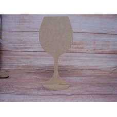 4mm MDF Standing wine glass 150mm tall