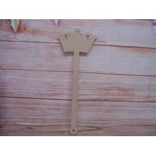 6mm MDF Crown wand