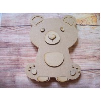 18mm 3D Teddy Bear 200mm