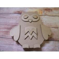18mm Freestanding Owl 200mm