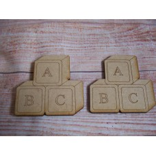 laser Cut Baby Building  Blocks 70mm