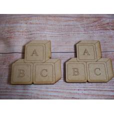 laser Cut Baby Building  Blocks 70mm