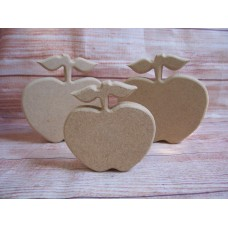 18mm MDF Standing Apple 100mm