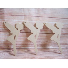 4mm Thick MDF Hanging Fairy