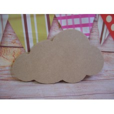 4mm MDF Cloud 100mm