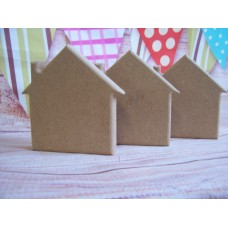 18mm MDF Freestanding House 150mm