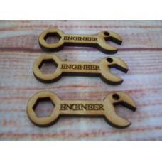 MDF Mini Spanner ENGINEER Pack of 5