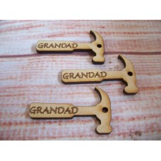MDF Mini Grandad hammer pack of 5