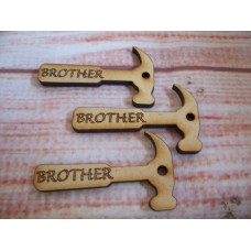 MDF Mini Brother Hammer pack of 5