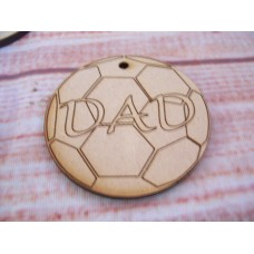 MDF Dad football 50mm
