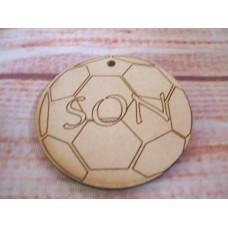 MDF Son Football 50mm