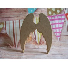 18mm MDF Freestanding Angel wings 150mm