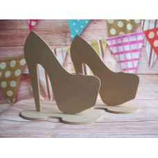 MDF Platform shoe with a base