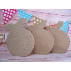 18mm MDF Christmas Pudding 200mm
