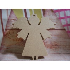 4mm MDF Angel With loop Starts at 70mm
