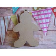 4mm MDF plain Gingerbread man Starts at 50 mm