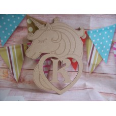 Large Personalised unicorn plaque 270mm