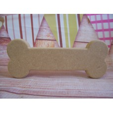 18mm MDF Standing Dog Bone 100mm