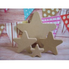 18mm MDF Standing Star  Starts at 100mm