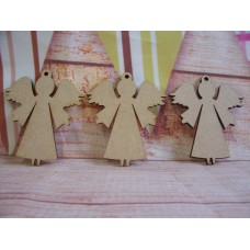 laser cut 70mm ANGEL PACK of 5
