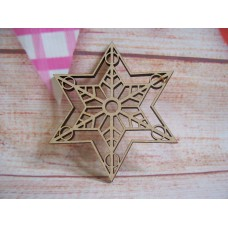 laser cut snowflake Pack of 5