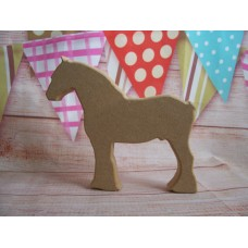 18mm MDF Shire Horse