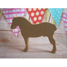 18mm MDF Suffolk Punch Horse
