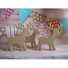 18mm  MDF Reindeer 150mm tall