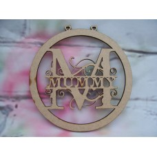 Mummy Monogram bauble 150mm