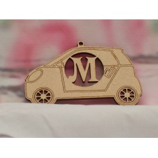 3mm Personalised car 100mm