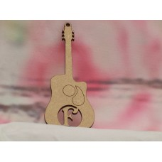 3mm Personalised Guitar 100mm