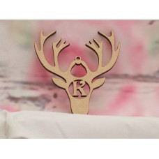 3mm Personalised Stag Head 150mm