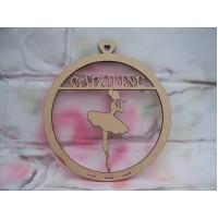 Ballerina dream catcher Personalised