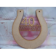40th Anniversary Horseshoe
