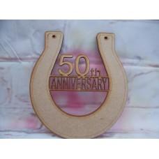 50th Anniversary Horseshoe