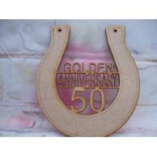 Golden Anniversary Horseshoe