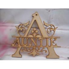 Monogram Auntie 150mm