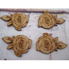 Roses MDF Pack of 5 50mm