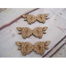 Roses MDF Pack of 5 75mm