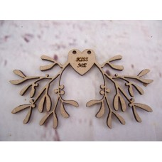 Valentine Mistletoe 100mm Pack of 5