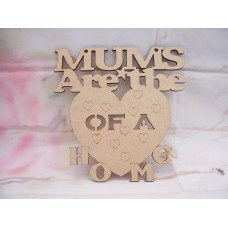 Mums are the Heart Plaque