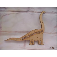 3mm MDF Brachiosaurus Dinosaur 200mm
