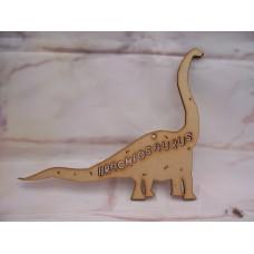 3mm MDF Brachiosaurus Dinosaur 150mm