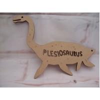 3mm MDF Plesiosaurus Dinosaur 200mm