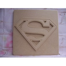 Super Hero Plaque Superman