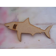 3mm MDF Shark 150mm pack of 5