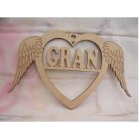 Gran Angel wing Heart