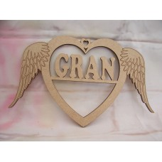 Gran Angel wing Heart