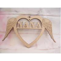 Nana Angel wing heart