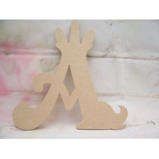 4mm MDF Unicorn Letters  starts at 100mm